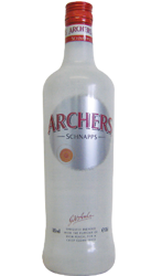 Picture of ARCHERS PEACH SCHNAPPS 18% 700ML