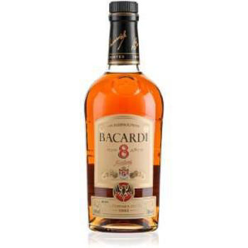 Picture of BACARDI RESERVE RARE GOLD RUM 8YR 40%700ML