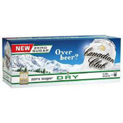 Picture of CANADIAN CLUB DRY ZERO SUGAR 330ML CANS 10 PACK