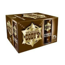 Picture of Codys & Cola 7% 12 Pack Cans 250ml