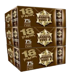 Picture of Codys & Cola 7% 18 Pack Cans 250ml - Bundle of 3