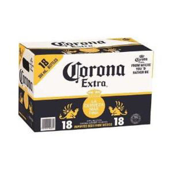 Picture of Corona Extra 18 Pack Bottles 330ml