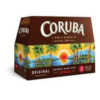 Picture of CORUBA AND COLA 330ML BOTTLES 10 PACK