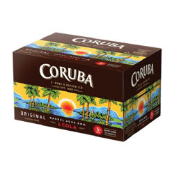Picture of CORUBA AND COLA 5% 250ML 12PK Cans