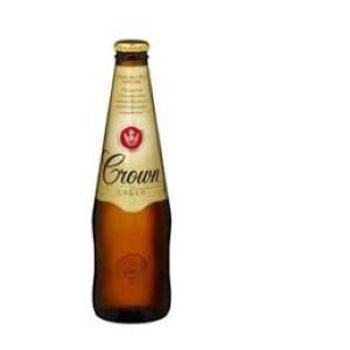 Picture of CROWN LAGER 12 PACK BOTTLES 375ML