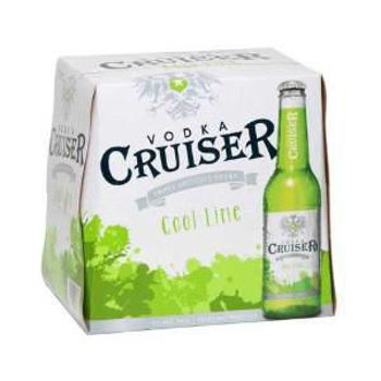Picture of Cruiser Cool Lime 5% 12 Pack Bottles 275ml