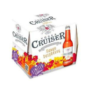 Picture of Cruiser Mango Raspberry 12 Pack Bottles 275ml
