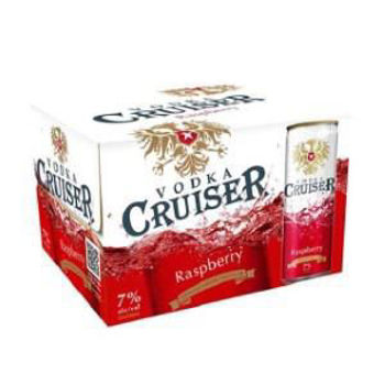 Picture of Cruiser Raspberry 7% 12 Pack Cans 250ml