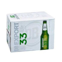 Picture of DB Export 33 15 Pack Bottles 330ml