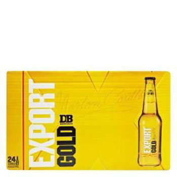 Picture of DB Export Gold  24 Pack Bottles 330ml