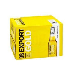 Picture of DB Export Gold 15 Pack Bottles 330ml