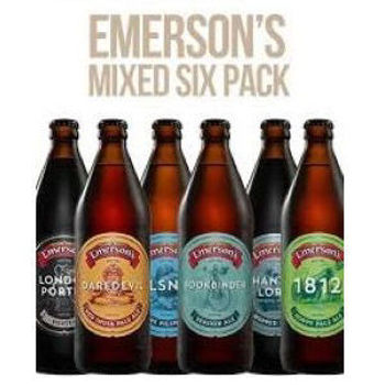 Picture of EMERSONS MIXED SIX 330ML 4 X 6 PACK BOTTLES
