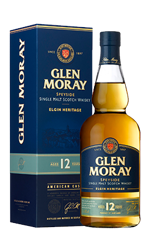 Picture of GLEN MORAY 12YR AMERICAN CASK SPEYSIDE SINGLE MALT 40% 700ML