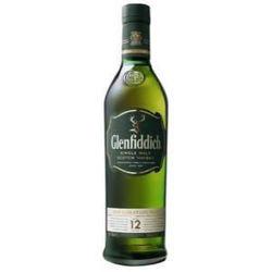 Picture of GLENFIDDICH 12 YO 1000ML 43% ABV