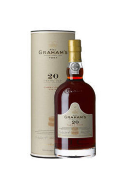 Picture of GRAHAMS 20YR OLD PORT 750ML