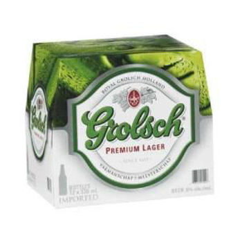 Picture of Grolsch Lager 12 Pack Bottles 330ml