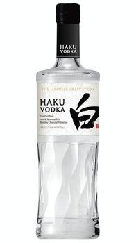 Picture of HAKU JAPANESE CRAFT VODKA 40%