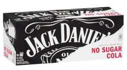 Picture of JACK DANIELS & ZERO COLA 375ML CANS 10-PACK