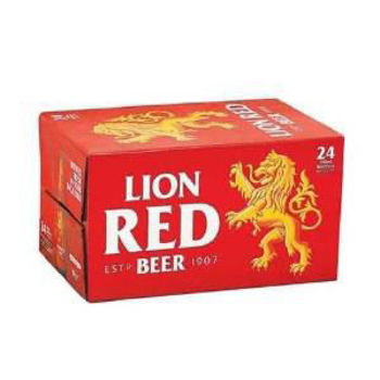 Picture of LION RED 24PK BOTTLES 330ML 5%