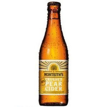 Picture of MONTEITH PEAR CIDER 12 PACK 330ML BOTTLES