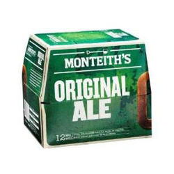 Picture of Monteith's Original Ale 12 Pack Bottles 330ml