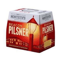Picture of MONTEITHS PILSNER 330ML BOTTLES 12 PACK