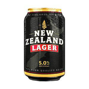 Picture of NZ LAGER 5% 12PK 440ML CANS
