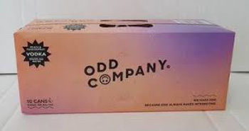 Picture of Odd Company Vodka, Peach/Passionfruit 10Pk Cans