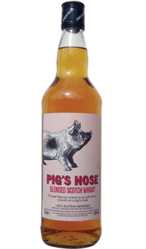 Picture of PIG'S NOSE BLENDED SCOTCH WHISKY 40% 700ML
