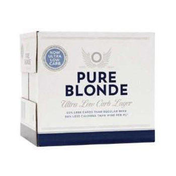 Picture of Pure Blonde Ultra Low Carb 12 Pack 355ml