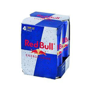Picture of RED BULL 4X250 ML
