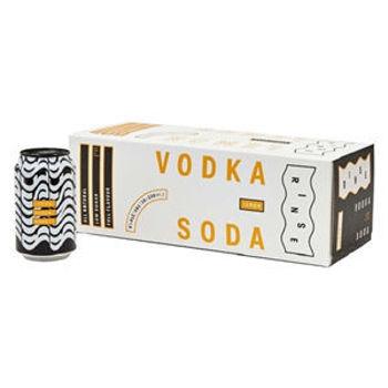 Picture of Rinse Vodka Lemon & Soda 10 packs 330ML ABV: 6%