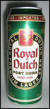 Picture of ROYAL DUTCH LAGER 5% 500ML 24PK CANS (CLEARANCE EXPIRED)