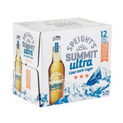 Picture of Speights Summit Ultra low carb 12pk Btls 330ml