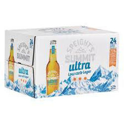 Picture of Speights summit Ultra low carb 24pk Btls 330ml
