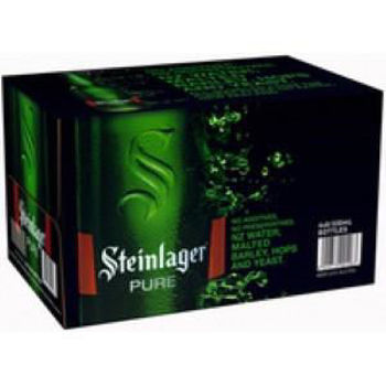 Picture of STEINLAGER PURE 24PK Bottles 5% 330ML