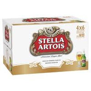 Picture of Stella Artois 24 Pack Bottles 330ml