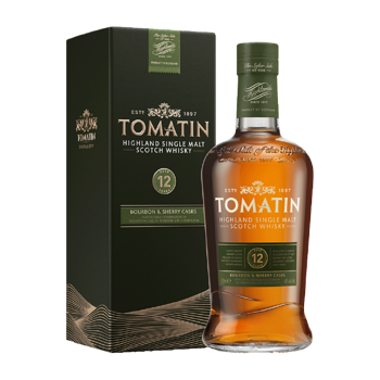 Picture of Tomatin 12yrs Scotch Whisky 700ml ABV 43%