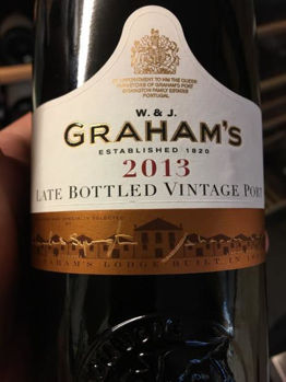 Picture of W. & J. Graham's Late Bottled Vintage Port 2013 750ML