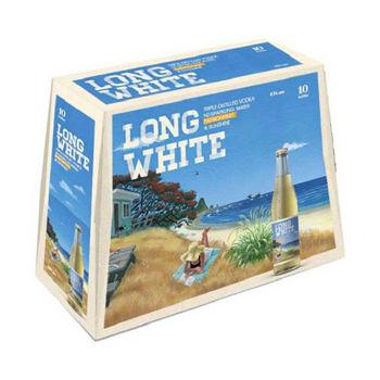 Long White Passionfruit 10 PK Bottles 4.8% 320ml