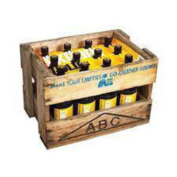 Picture of DB Export Gold WOODEN CRATE 12 Pack BIG 745ML