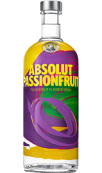 Picture of ABSOLUT  PASSIONFRUIT VODKA 700ML 40% ABV