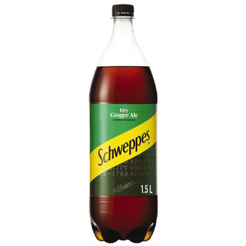 Picture of Schweppes Dry Ginger Ale 1.5l