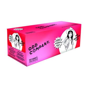 Odd Company Vodka Raspberry & Pomegranate 10Pk Cans