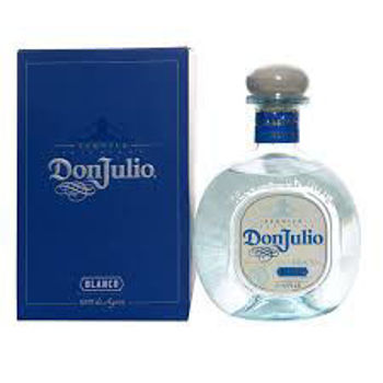 Picture of DON JULIO TEQUILA BLANCO SILVER 38% 700ML