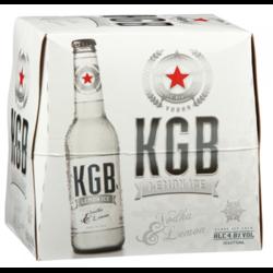 Picture of KGB VODKA & LEMON 5% 12pk bottles