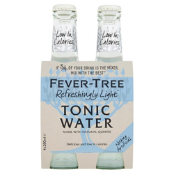 Fever Tree Light Tonic Water 4pack 200ml