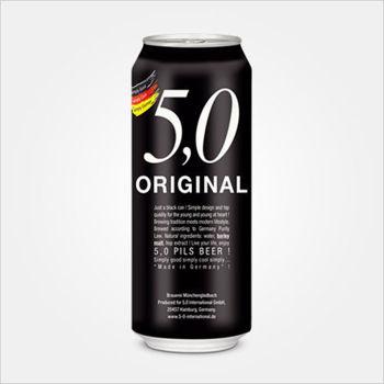 5.0 Original Pils Beer 24 Pack 500ml