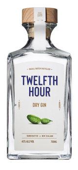 TWELFTH HOUR NZ DRY GIN 43% 700ML
