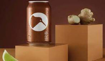Picture of PART TIME RANGERS BROWN KIWI WHISKY WITH GINGER  6.0% 10Pk 330ML CANS